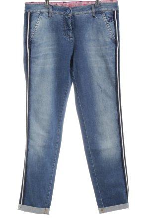 Barbone Karottenjeans blau Casual-Look