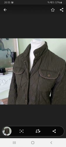Barbour Quilted Jacket dark green-khaki