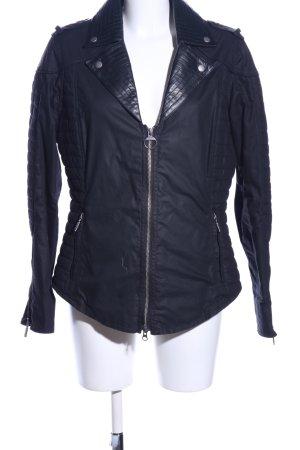 Barbour Biker Jacket black casual look
