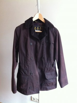 Barbour Waxed Jacket brown cotton