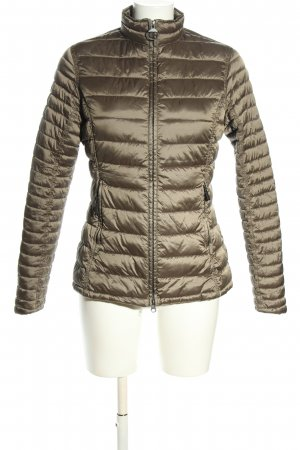 Barbour Down Jacket khaki quilting pattern casual look