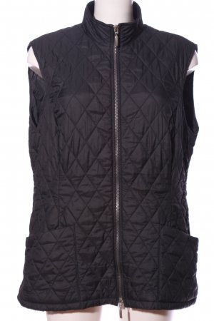 Barbour Down Vest blue quilting pattern casual look
