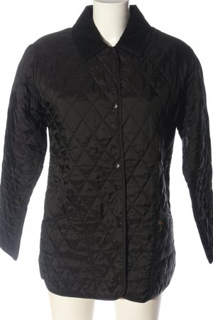 Barbour Fliegerjacke schwarz Casual-Look