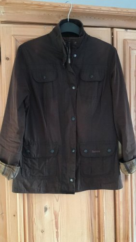 Barbour Chaqueta encerada marrón