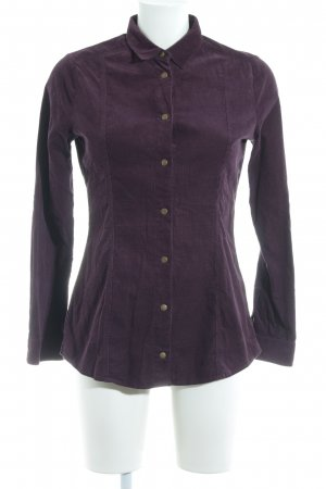 Barbour Shirt Blouse brown violet casual look