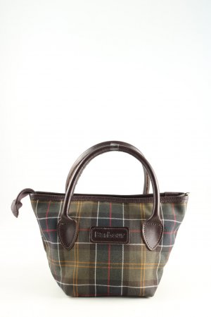 Barbour Carry Bag check pattern casual look
