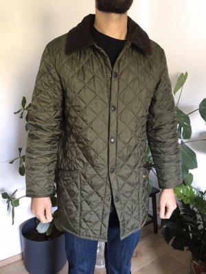 Barbour Gewatteerd jack khaki-olijfgroen