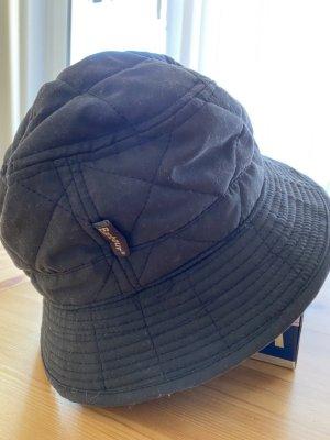Barbour Sombrero de lluvia negro Algodón