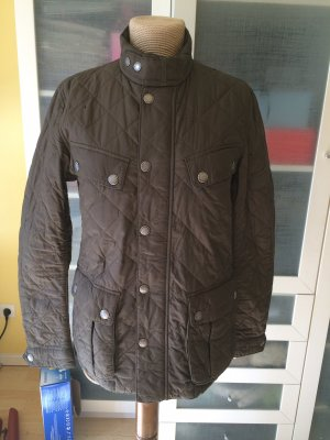Barbour International Stepp Jacke Gr S taupe