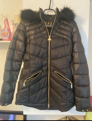 Barbour Down Jacket black-gold-colored