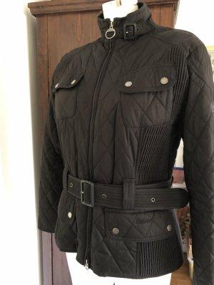 Barbour Veste motard noir