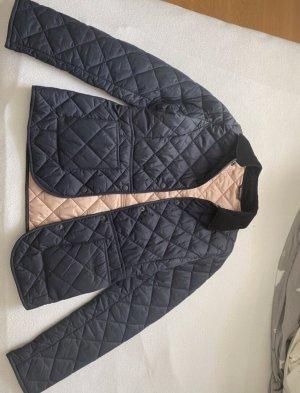 Barbour Between-Seasons Jacket dark blue-pink