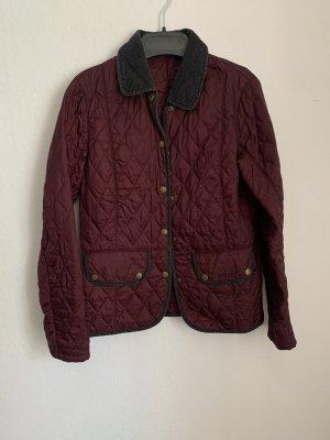 Barbour Quilted Jacket bordeaux-carmine