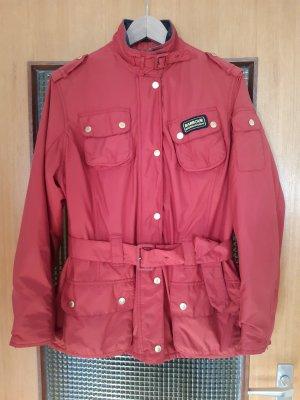 Barbour Outdoor Jacket brick red