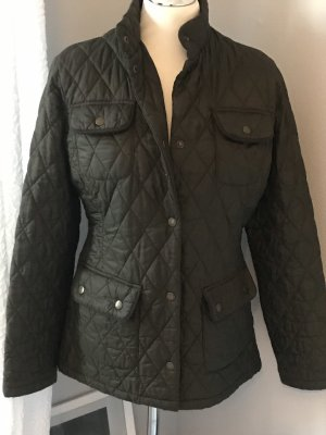 Barbour Quilted Jacket green grey