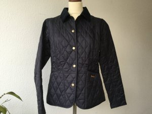 Barbour Quilted Jacket dark blue cotton