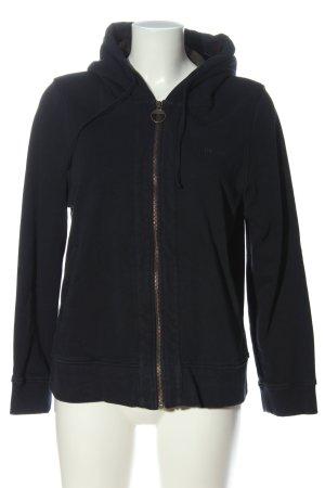 Barbour Hooded Sweatshirt black casual look