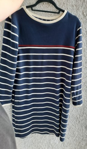 Barbour Sweater Dress dark blue-white