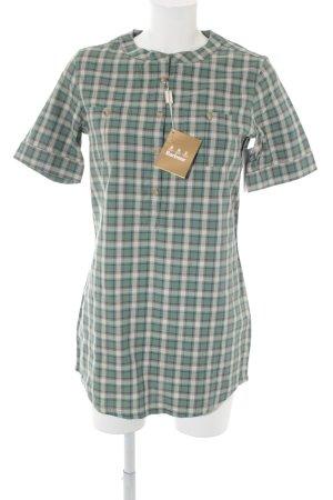 Barbour Chemise à manches courtes motif à carreaux style décontracté
