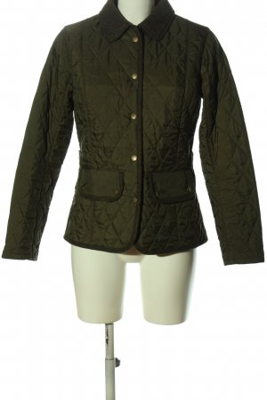 Barbour Kurzjacke braun Steppmuster Casual-Look
