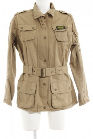 Barbour Short Jacket sand brown casual look