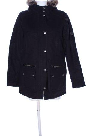 Barbour Manteau court noir style décontracté