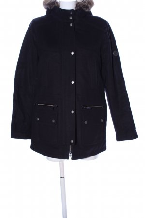 Barbour Krótki płaszcz czarny W stylu casual