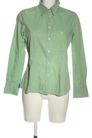 Barbour Camicia a maniche lunghe verde stampa integrale stile professionale