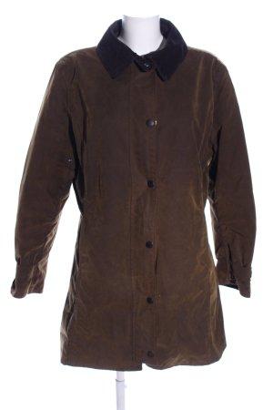 Barbour Veste longue brun style décontracté