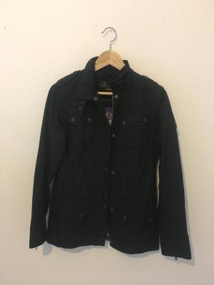 Barbour Luxus Designer fieldjacket Marke outdoor Sport sportlich Biker hochwertig Jacke wasserdicht atmungsaktiv Funktionsjacke schwarz Sommer