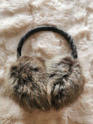 Barbour Fur Hat dark grey-grey brown