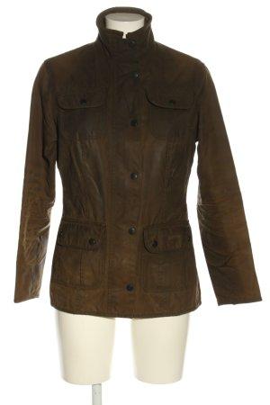 Barbour Outdoor Jacket brown casual look
