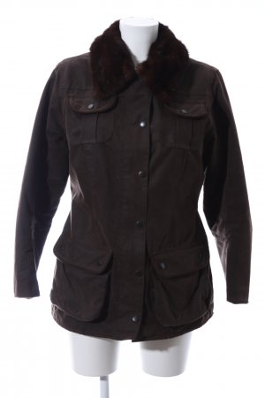 Barbour Parka brown casual look