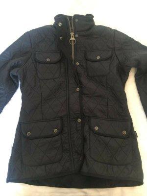 Barbour Polarquilt Utility Fleece Jacke UK 10 Gr.36 schwarz, neu, BNWT