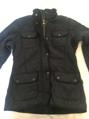 Barbour Polarquilt Utility Fleece Jacke UK 8 Gr.34 schwarz, neu, BNWT