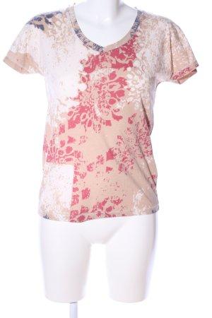 Barbour T-shirt imprimé motif abstrait style décontracté