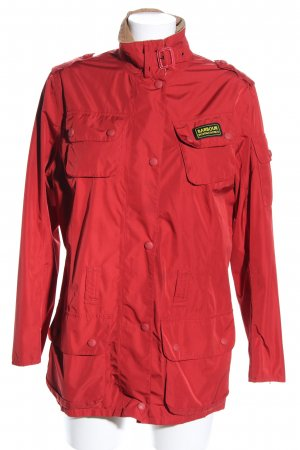 Barbour Impermeabile rosso stile casual