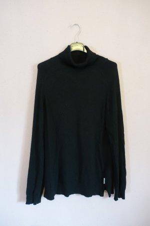Barbour Turtleneck Sweater black mixture fibre