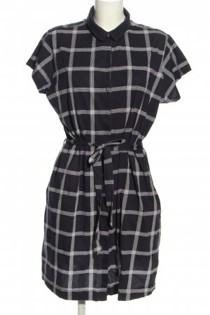 Barbour Shirt Dress black-white check pattern casual look