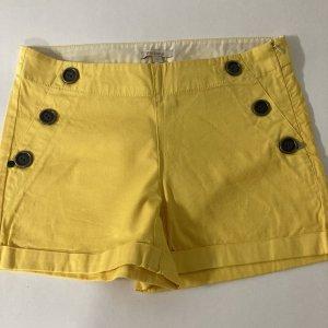 Barbour Hot Pants yellow cotton