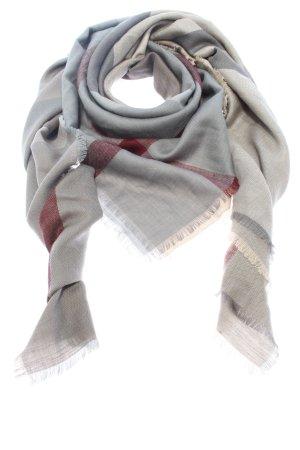 Barbour Écharpe d'été gris clair-rouge motif à carreaux