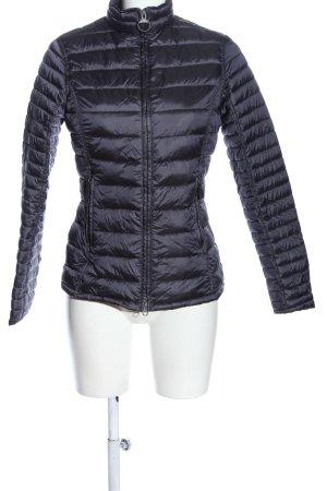 Barbour Pikowana kurtka niebieski Pikowany wzór W stylu casual