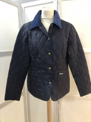 Barbour Quilted Jacket dark blue