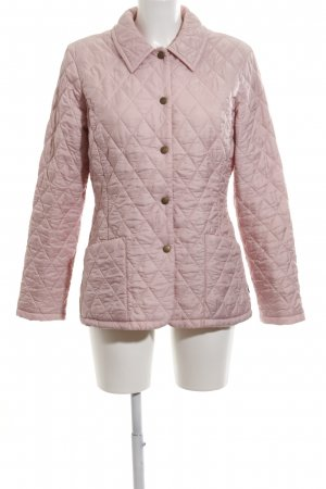 Barbour Steppjacke pink Steppmuster Casual-Look