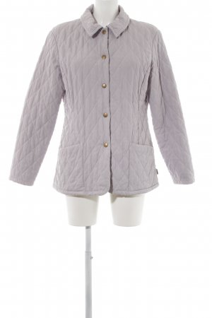 Barbour Steppjacke blasslila Steppmuster Casual-Look