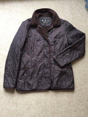 Barbour Quilted Jacket dark brown