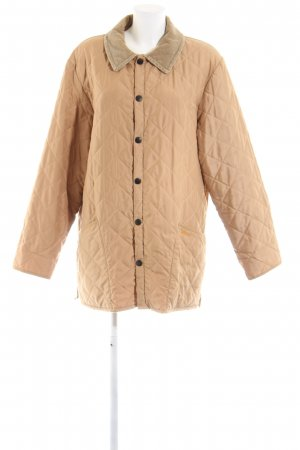 Barbour Steppjacke nude Steppmuster Casual-Look