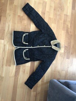 Barbour Quilted Jacket dark blue