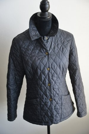 Barbour Quilted Jacket slate-gray polyester