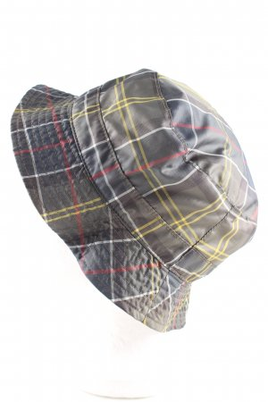 Barbour Fabric Hat check pattern casual look